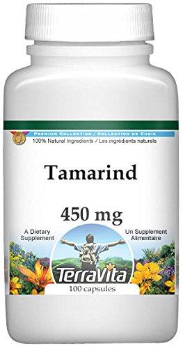 Tamarind - 450 mg (100 Capsules, ZIN: 521505)