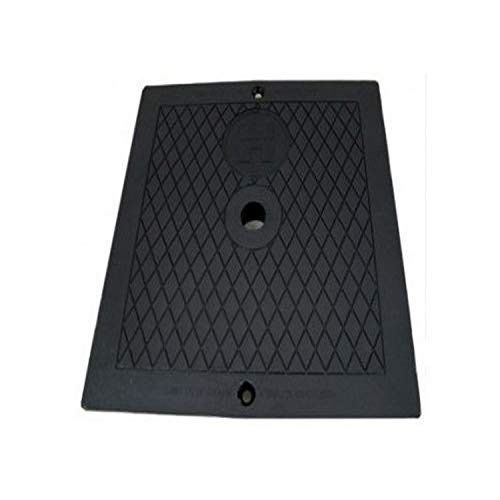 Hayward SPX1082EBLK Black Cover Square Deck Plate Replacement for Select Automatic Skimmers