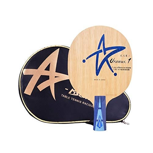 Amazing Deal HENGTONGWANDA Table Tennis Racket, Horizontal Shot, Pen-Hold 7-Layer Pure Wood Racket, ...