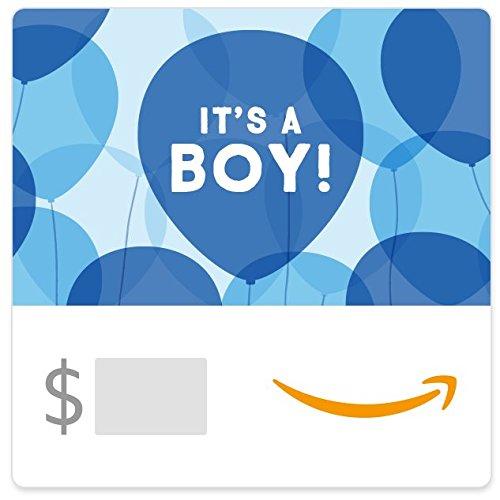 Amazon eGift Card - It's a Boy Balloons