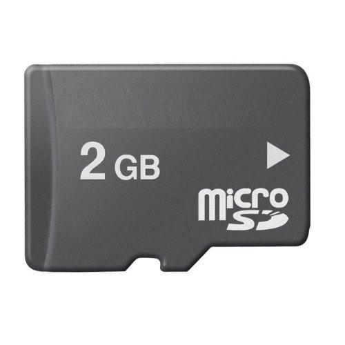 Uteruik - Tarjeta de Memoria microSD (2 GB)