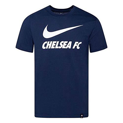 Nike Chelsea Swoosh Blue 2020-21 - Camiseta, turquesa, L
