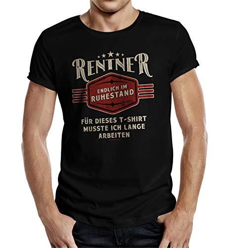 T-Shirt für Rentner - Endlich im Ruhestand L Nr.6335