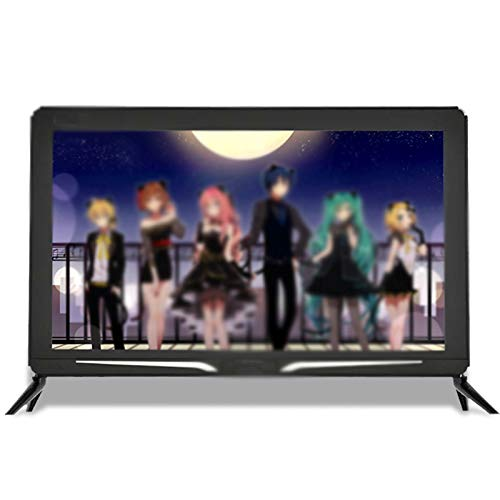 Zzmop TV LCD HD con Tecnologia HDR,Smart TV Android con modalità di Protezione degli Occhi,Interfaccia HDMI,Dimensioni Ridotte,per Cucina,Camera da Letto,Nero.