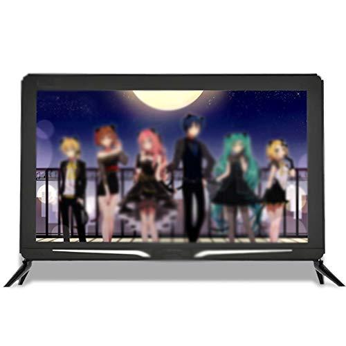Zzmop TV LCD HD con Tecnología HDR,Smart Android TV con Modo de Protección Ocular,Interfaz HDMI,Tamaño Pequeño,para Cocina,Dormitorio,Negro.