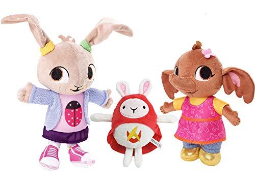 Bing Plush Hoppity VOOSH e Flop Plush Rabbit Bunny Serie TV