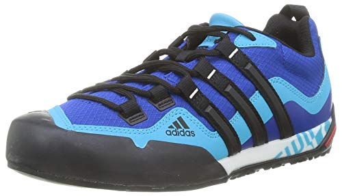 adidas Terrex Swift Solo, Zapatillas de Hiking Unisex Adulto, AZUREA/NEGBÁS/CIASEN, 39 1/3 EU