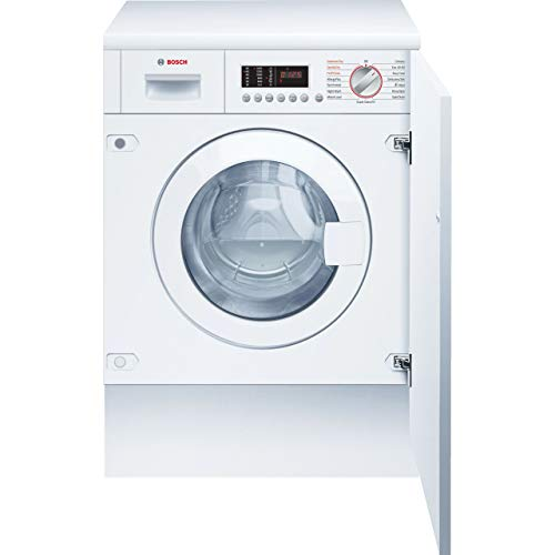 Bosch Serie 6 WKD28542GB Integrated 7Kg / 4Kg Washer Dryer with 1400 rpm - White