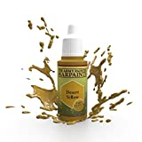 The Army Painter Desert Yellow Warpaint - Acrylic Non-Toxic Heavily Pigmented Water Based Paint for Tabletop Roleplaying, Boardgames, and Wargames Miniature Model Painting