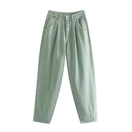 Jeans Frauen Loose Mom Jeans High Waist Streetwear Boyfriends Jeans Frauen Washed Denim Lange Hosen Slouchy Jeans