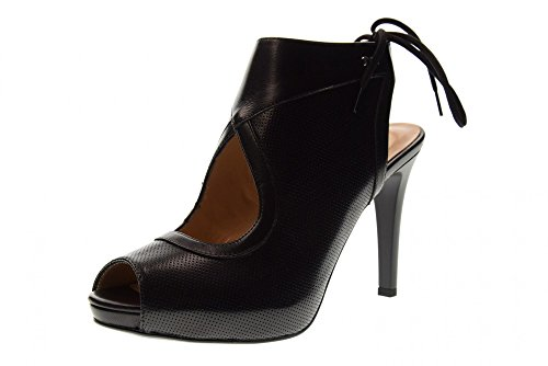 Nero Giardini Zapatos Medio-Cerrados Tacón Alto P8054400DE/100 Talla 40 Negro