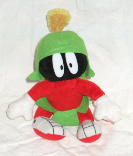 LOONEY TUNES Talking Marvin The Martian Bean Bottom Plush by Play by Play