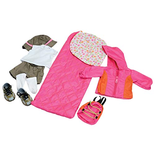 Camping Outfit and Accessories for 18' Doll