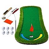 JUYHTY Juego De Fairway Golf-Greens para Interiores TamañO 300 * 95Cm-4 Tipos De Accesorios (MáS Putter) -Apto para Exteriores E Interiores