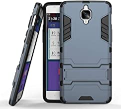 Oneplus 3/3T Hybrid Armor Protective Case Housing ShockProof Cover -Navy Blue