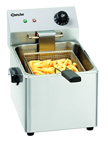 Bartscher A162810E Snack Friteuse mit 8L Becken