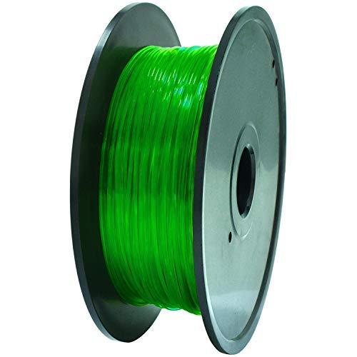 GEEETECH TPU Filamento flessibile 1.75mm Verde, Filamento stampante 3D...