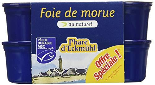 Phare d'Eckmühl Foie de Morue Naturel MSC 2 x 121 g