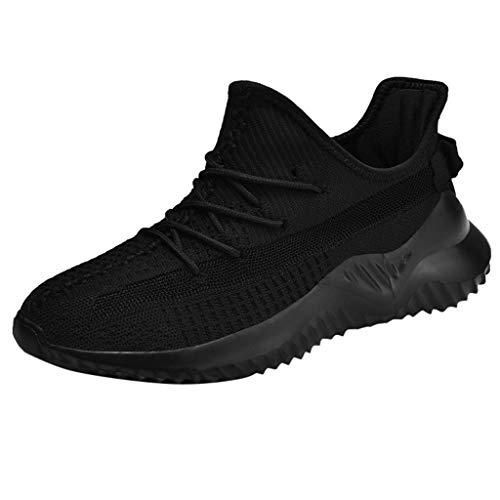 Jodier Zapatillas Deportivas de Malla atlética de Moda para Hombre Transpirables Ligeras y Deportivas Zapatos Running Hombre Mujer Trail Fitness Sneakers Ligero Transpirable