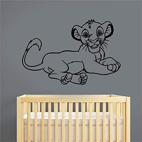 stickers muraux autocollant Simba Decal Sticker Roi Lion Décorations Pour La Maison Enfants Bébé Garçons Filles Chambre Nursery Playroom