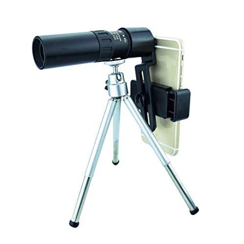 Gpure Telescopio Terrestre 4K Aumento de 10-300x Profesionales 0.5-3000m Visible FMC BAK4...