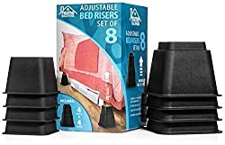 Best bed risers for king size beds #8 - Home Solutions Premium Adjustable Bed Riser
