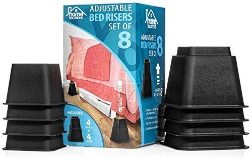 Premium Adjustable Bed Risers