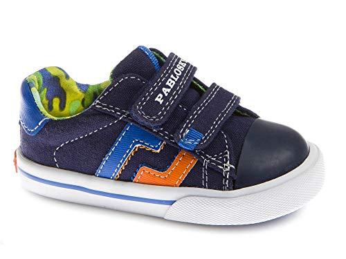 Zapatillas De Lona Niño Pablosky Azul 961121 23