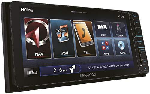 Kenwood dnx715wdab Autoradio Multimedia Navigationssystem Touchscreen mit Bluetooth und DAB
