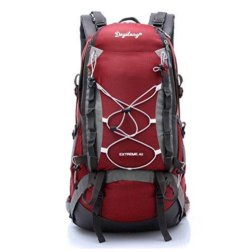 SZH&BEIB Sac à dos Randonnée grande capacité 40LWaterproof Voyage en nylon de camping activité de plein air , C