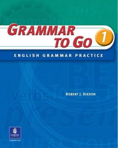 Grammar To Go, Level 1