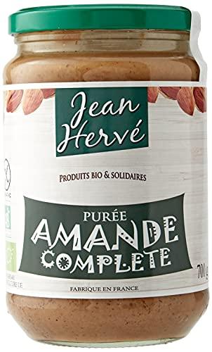 Jean Hervé Purée d'Amande Complète Biologique Format, 700 g