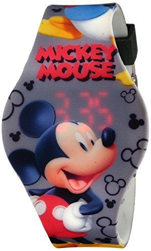Kids' MCH3401 Mickey Mouse Digital Display Analog Quartz Grey Watch