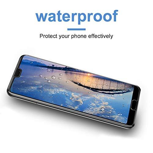 VICKSONGS Schutzfolie für Huawei P20,(3Stück) Ultra Clear Displayschutzfolie (Nicht Glas) Soft Displayschutz [Anti-Bläschen][Anti-Fingerabdruck] Displayfolie Folie Screen Protector für Huawei P20 - 4