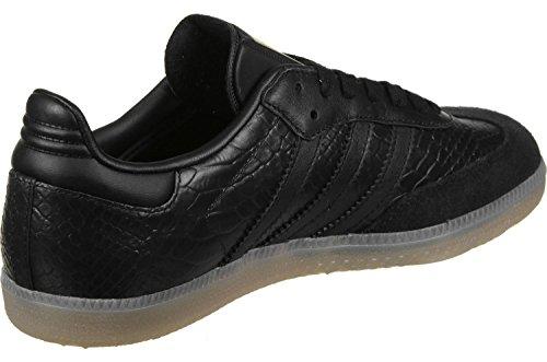 adidas Samba W, Chaussures de Sport Femme Noir Noir (NegbasNegbasDormet), 38 EU