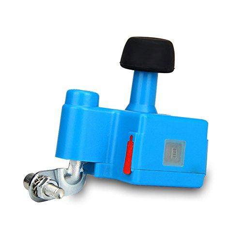 allacers Fahrrad Generator Handy Dynamo Fahrrad Bike 5V 1A Ausgang: eingebaute 1000mAh Akku Night Riding Werkzeug, blau