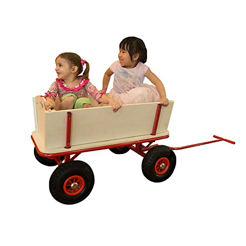 Chariot de Plage Beach Wagon Billy Rouge