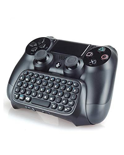 Numskull Sony PlayStation 4 Bluetooth Wireless Mini Keyboard Gadget, Wireless Bluetooth Chat Pad mit Voice Chat Lautsprecher für PS4 DualShock 4 Controller