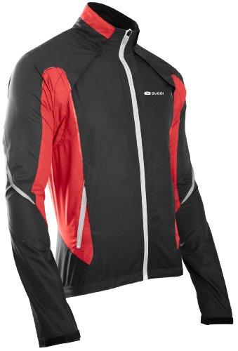 Sugoi Herren Jacke Versa Jacket, Black/Matador, XL, 70774U.BKM.5