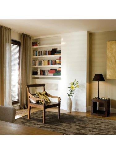 Angelo Teppiche: Teppich Bamboo Braun 140x200 cm - schadstofffrei - 100% Bambus - - Handgetufted - Wohnzimmer
