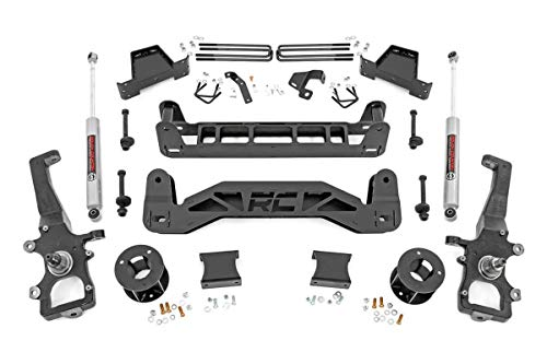 Rough Country 6' Lift Kit (fits) 2004-2008 F150 2WD   N3 Shocks   Spindle...