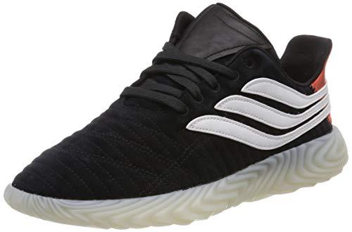 adidas Sobakov, Zapatillas Hombre, Negro (Black Bd7549), 42 2/3 EU