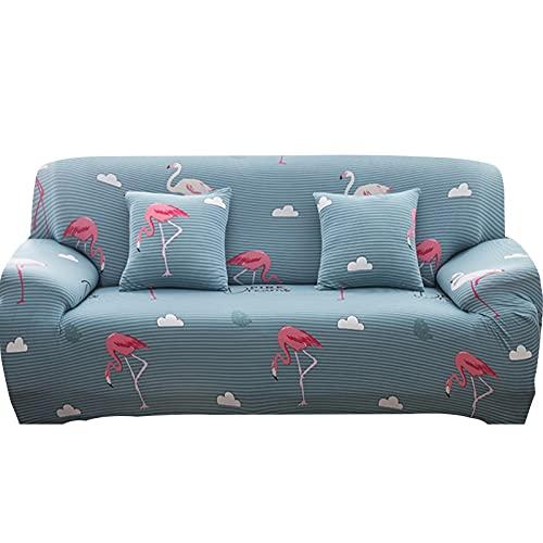 MKQB Flexibler einziehbarer Sofabezug für Wohnzimmer, dekorative Ecksofabezug für Zuhause, rutschfest, fest gewickelt NO.12 M (145-185cm)