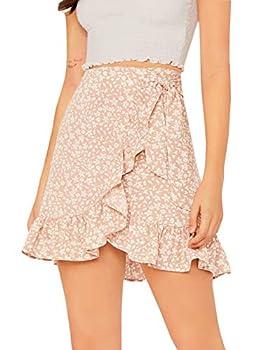 Best short ruffle skirt Reviews