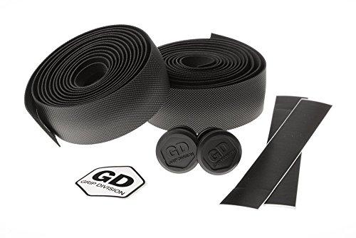 GD Grip Division Rennrad Lenkerband Grand Montagna - hochwertige und griffige PU/Eva Sandwich Konstruktion - 198 x 3 cm - schwarz
