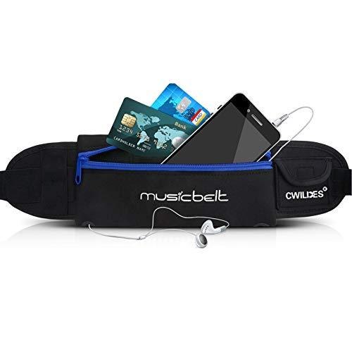 Wasserdichte Hüfttasche mit großem Fassungsvermögen, verstellbar für Laufen und Outdoor-Aktivitäten