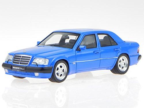 Mercedes W124 Brabus 500E E65 blau Modellauto437032502 Minichamps 1:43