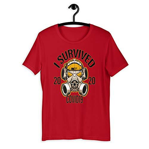 Chameleon Living CORONAVIRUS Memes Camiseta diseño I Survived COVID-19 2020