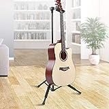 Gitarrenständer Gitarrenzubehör Klappbarer Gitarrenständer mit Rutschfester Fußhöhe Tragbarer Gitarrenständerhalter E-Gitarre Ständer...