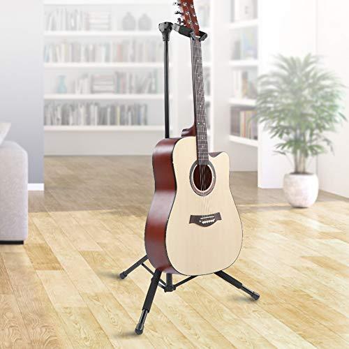 Banquillo reposapies para guitarra plegable LK GS017 goma antideslizante